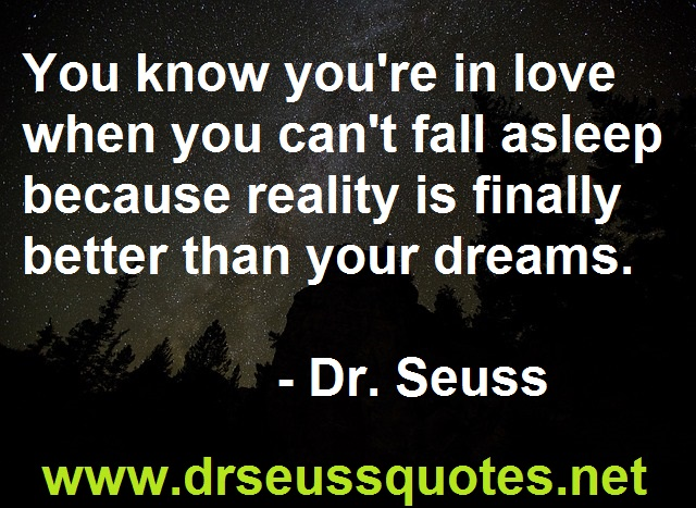 Dr Seuss quote on love